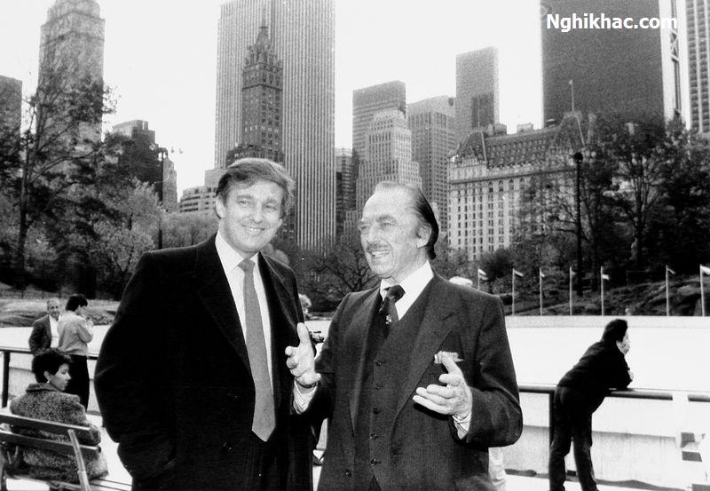 Donald Trump và người bố giàu Fred Trump