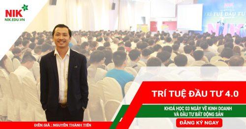 Nguyễn Thành Tiến –  Nhà Sáng Lập NIK