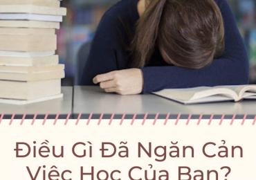 ĐIỀU GÌ ĐÃ NGĂN CẢN VIỆC HỌC CỦA BẠN ? – Nguyễn Thành Tiến