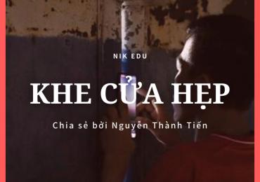 Khe Cửa Hẹp – Nguyễn Thành Tiến
